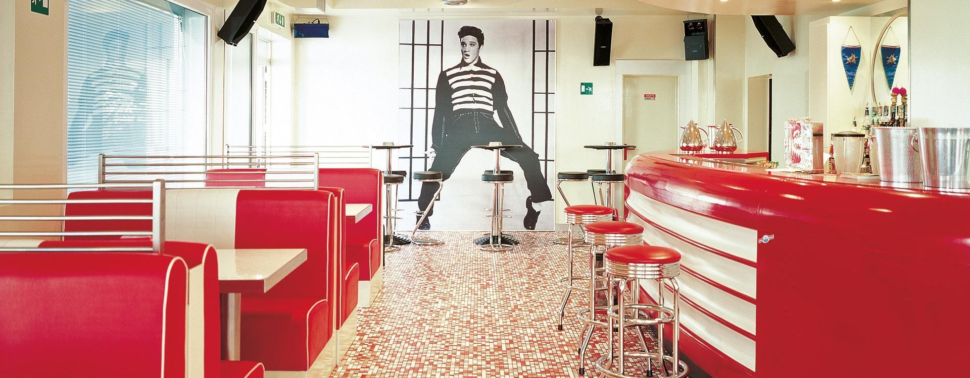 American Bar,  Milano, Italy