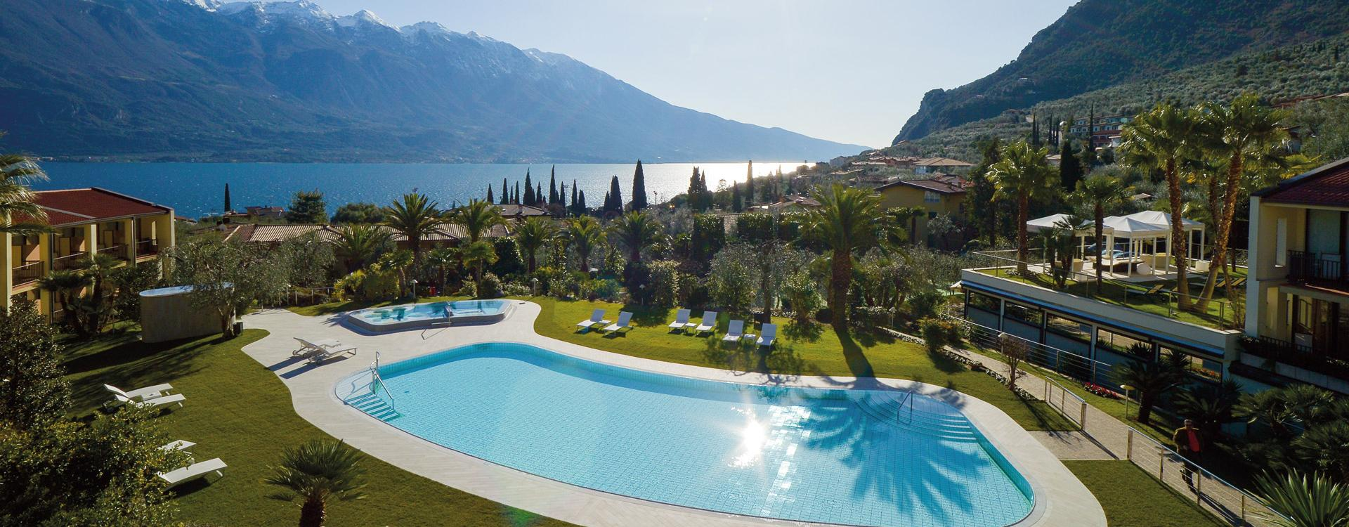 Appiani Tiles Pool Spa Park Hotel Imperial Limone Sul Garda Italy