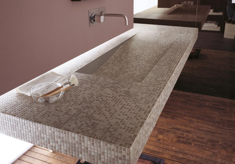 Single firing ceramic tiles anthologia by appiani - Mosaico vetro bagno ...