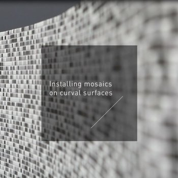 Laying mosaic on curved surfaces<br></br>
